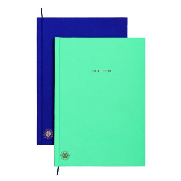 OCTAEVO | Notebook/Planner | Mint/Blue