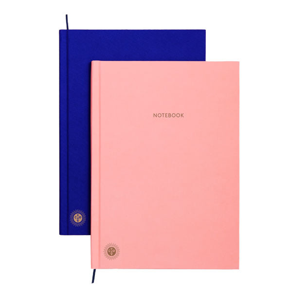 OCTAEVO | Notebook/Planner | Pink/Blue