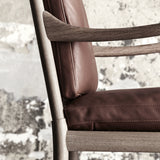 CARL HANSEN & SØN | OW149 Colonial Chair | Ole Wanscher | Brown leather | Made for you - Available in 8-12 weeks | Price from:
