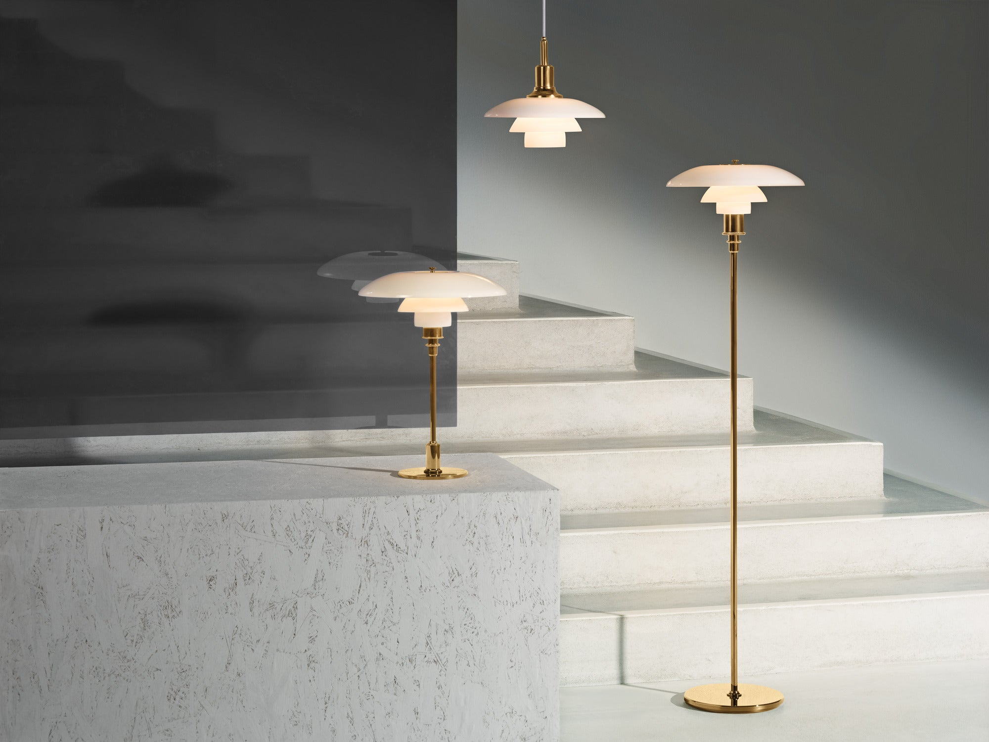 LOUIS POULSEN | PH 3/2 Pendant | Poul Henningsen | 3 options