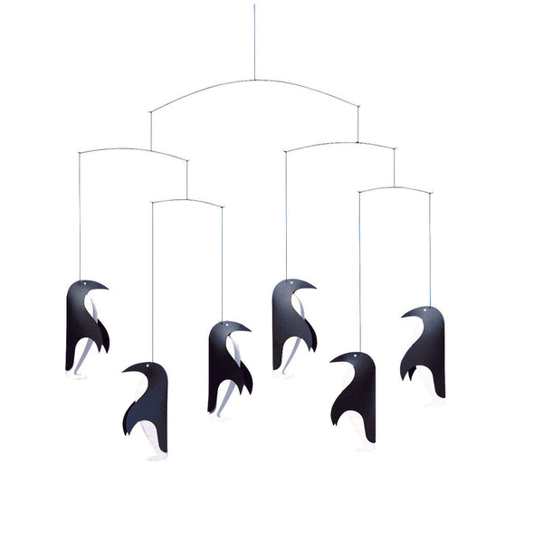 FLENSTED MOBILES | Penguin Parade | 45x45cm