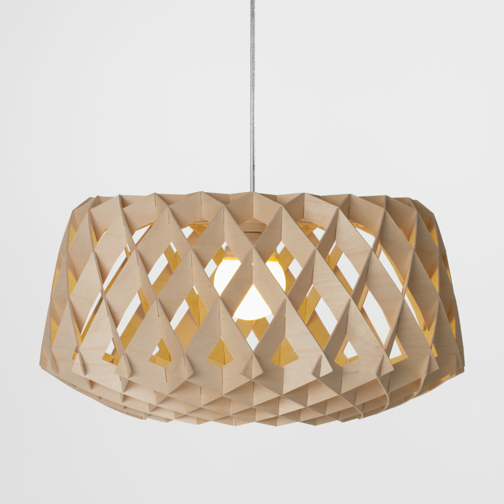 SHOWROOM FINLAND | Pilke 60 | Pendant | Natural Birch | Made for you - Available in 3 weeks