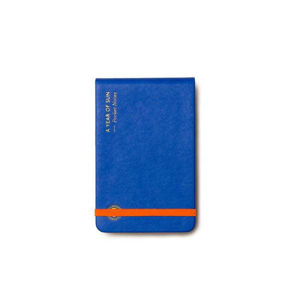 OCTAEVO | Notebook | Pocket Notes | A Year of Sun | Blue