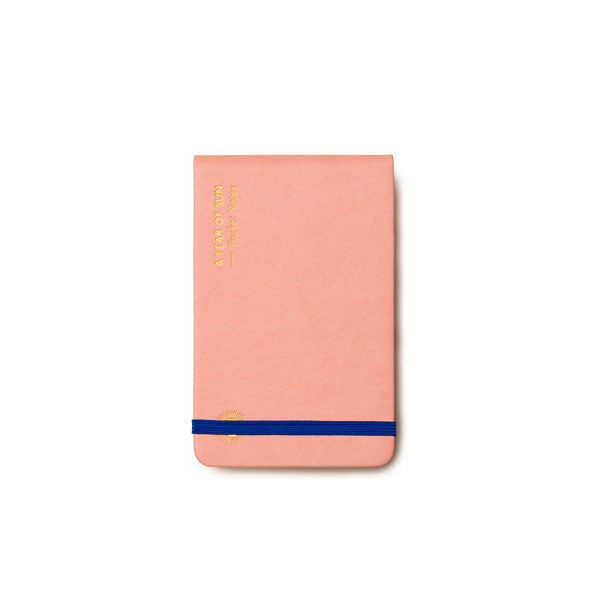OCTAEVO | Notebook | Pocket Notes | A Year of Sun | Pink