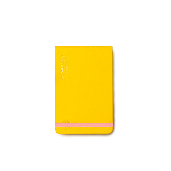 OCTAEVO | Notebook | Pocket Notes | A Year of Sun | Yellow