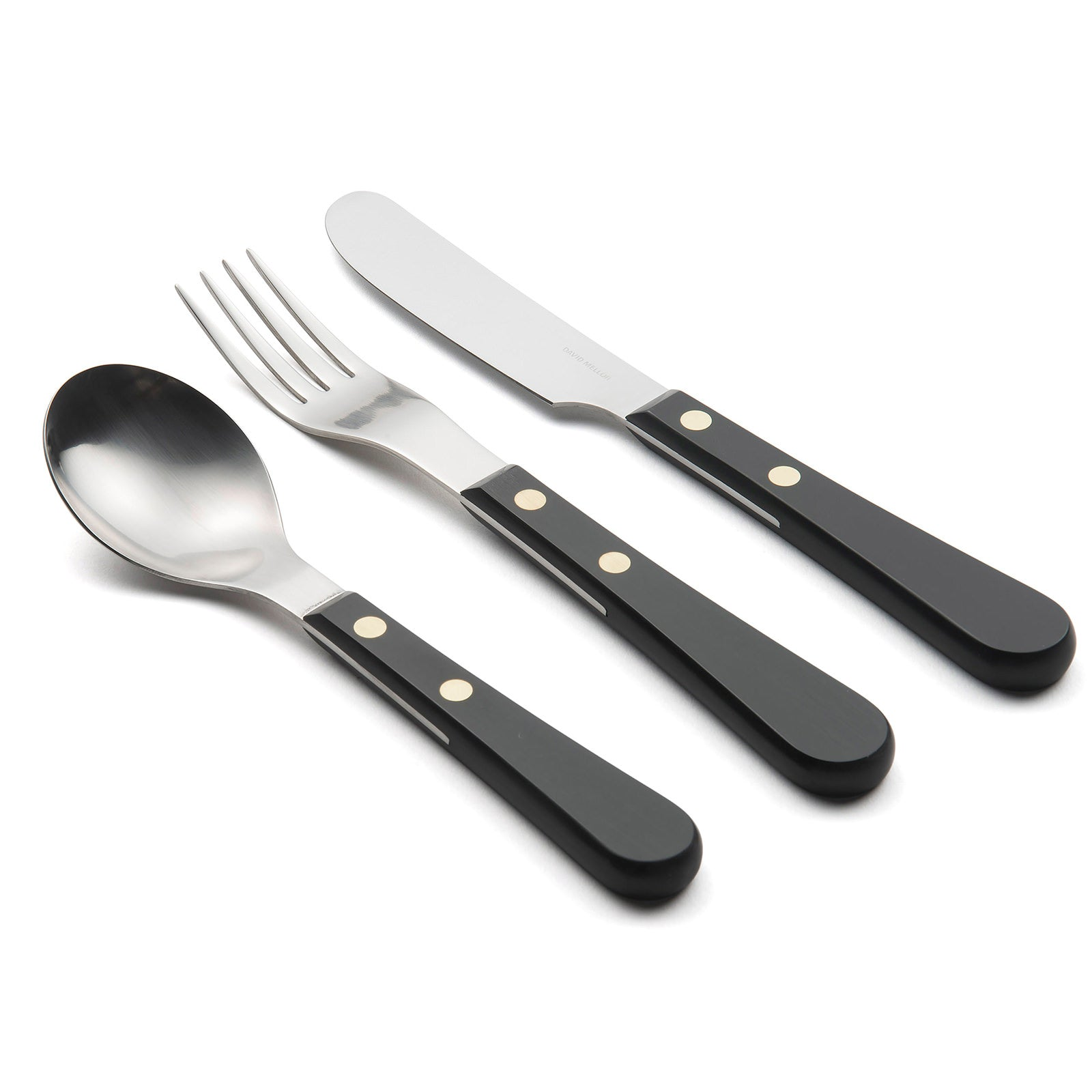 DAVID MELLOR |  Provençal Dessert Knife | Black (2 week delivery)