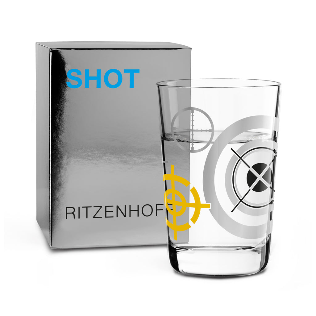RITZENHOFF | The Next 25 Years | Shot Glass | Sonia Pedrazzini 'Target'