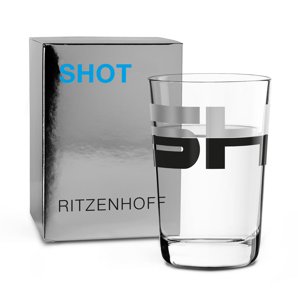 RITZENHOFF | The Next 25 Years | Shot Glass | Pentagram 'Shot'