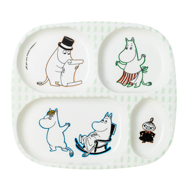 PETIT JOUR PARIS | Moomin | 4-Compartment Serving Tray