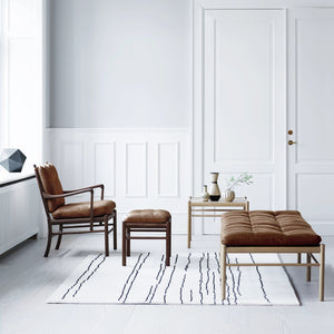 CARL HANSEN & SØN | OW149F Colonial Footstool | Design: Ole Wanscher 1963 | Made for you - available in 10 weeks.