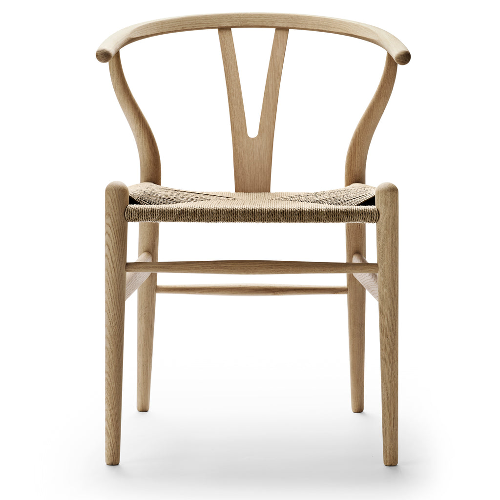 **OFFER**| CARL HANSEN & SØN | CH24 Wishbone Chair | Hans J. Wegner | Oak frame | Soap finish | Natural seat | ** IN STOCK **