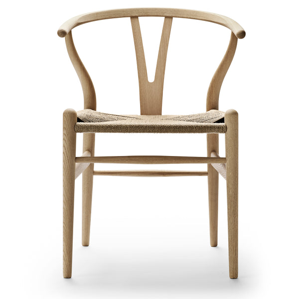 **On SALE & In STOCK**  CARL HANSEN & SØN | CH24 Wishbone Chair | Hans J. Wegner | Oak frame | Soap finish | Natural seat