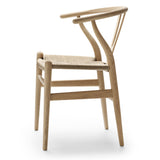 CARL HANSEN & SØN | CH24 Wishbone Chair | Hans J. Wegner | Oak frame | Soap finish | Natural seat **6 available for collection/delivery 2nd week Dec**