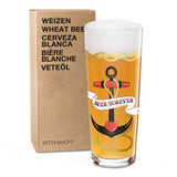 RITZENHOFF | The Next 25 Years | Wheat Beer Glass |  Liana Cavallaro
