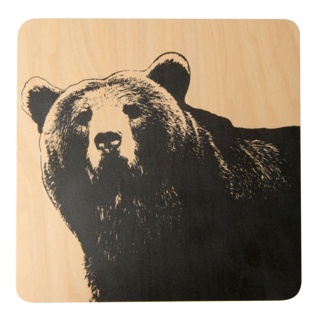 MUURLA | Nordic Series | Trivet | The Bear