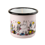 MUURLA | Moomin | Shared Moment | Candle in Enamel Mug | 1.5dl