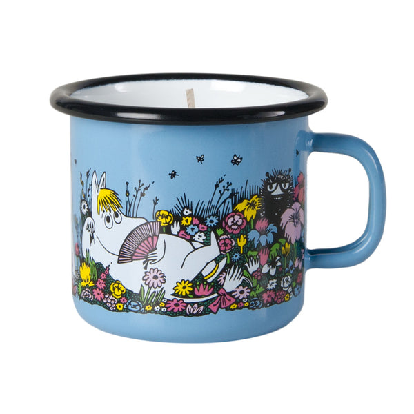 MUURLA | Moomin | Shared Moment | Candle in Enamel Mug | 2.5dl