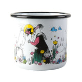 MUURLA | Moomin | Shared Moment | Candle in Enamel Mug | 3.7dl