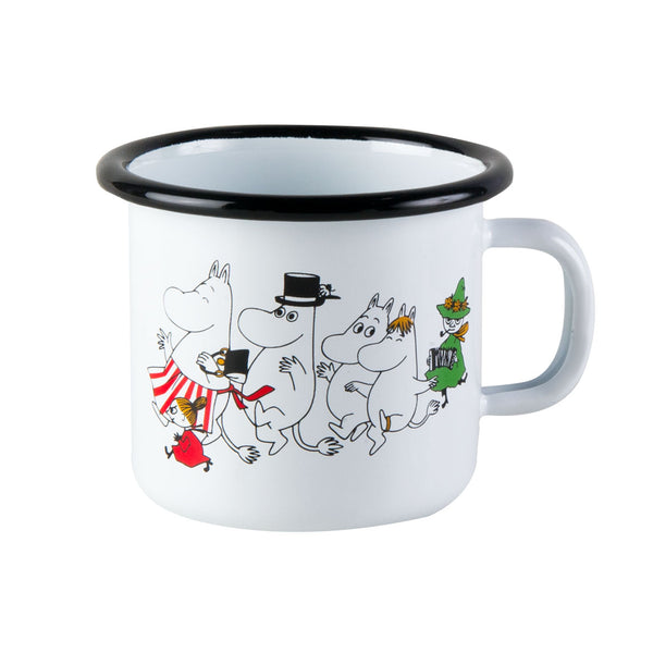 MUURLA | Moomin | Colors | Enamel Mug | Moominvalley | 2.5dl