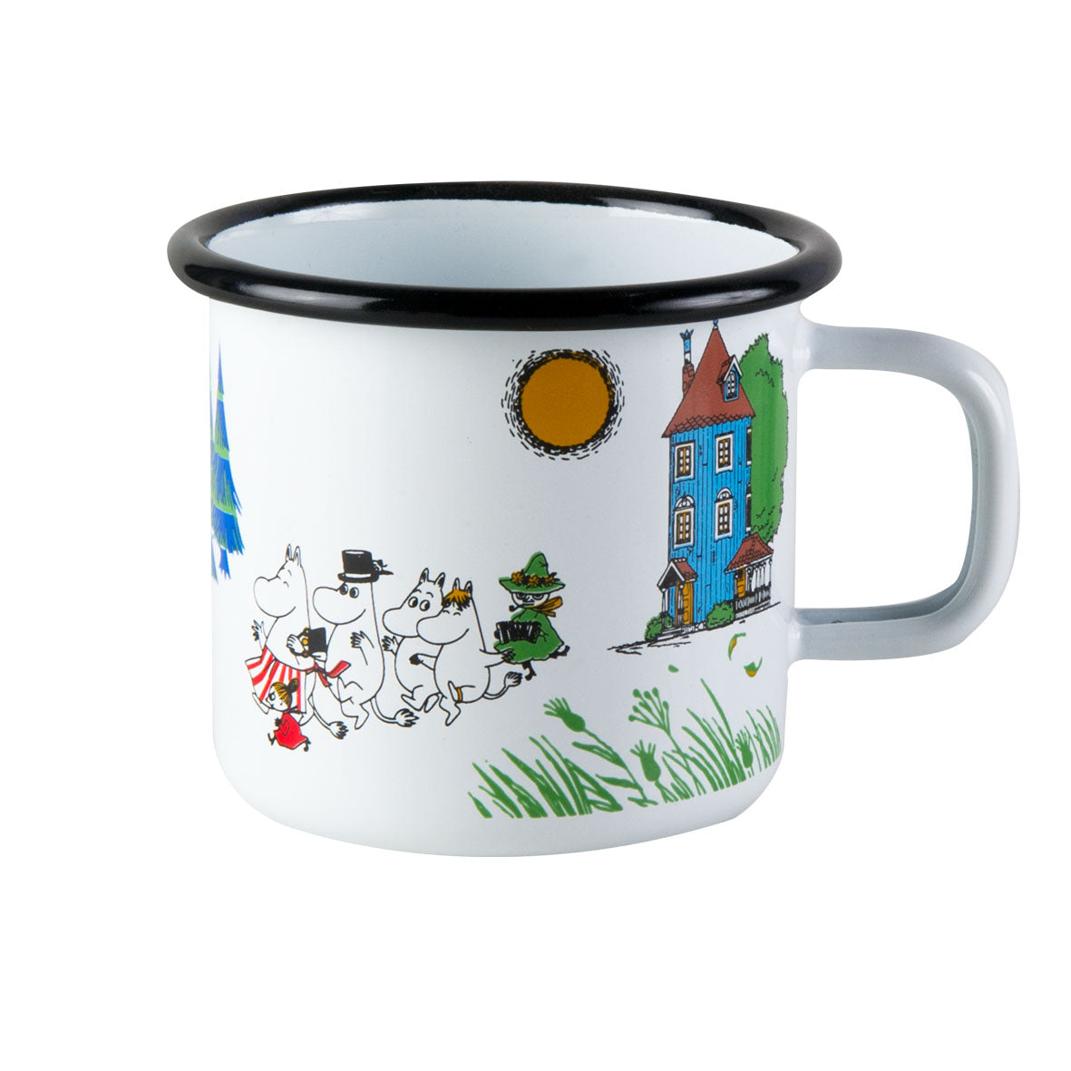 MUURLA | Moomin | Colors | Enamel Mug | Moominvalley | 3.7dl