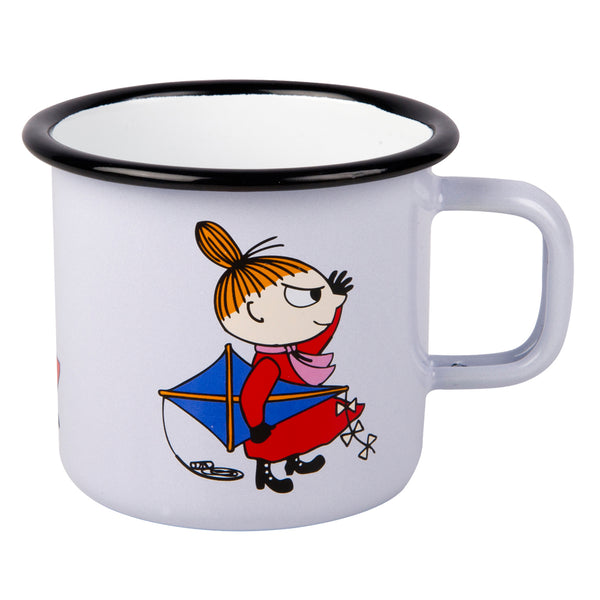 MUURLA | Moomin | Retro | Enamel Mug | Little My | 2.5dl