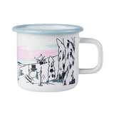 MUURLA | Moomin | Winter | Enamel Mug | Winter Time | 3.7dl
