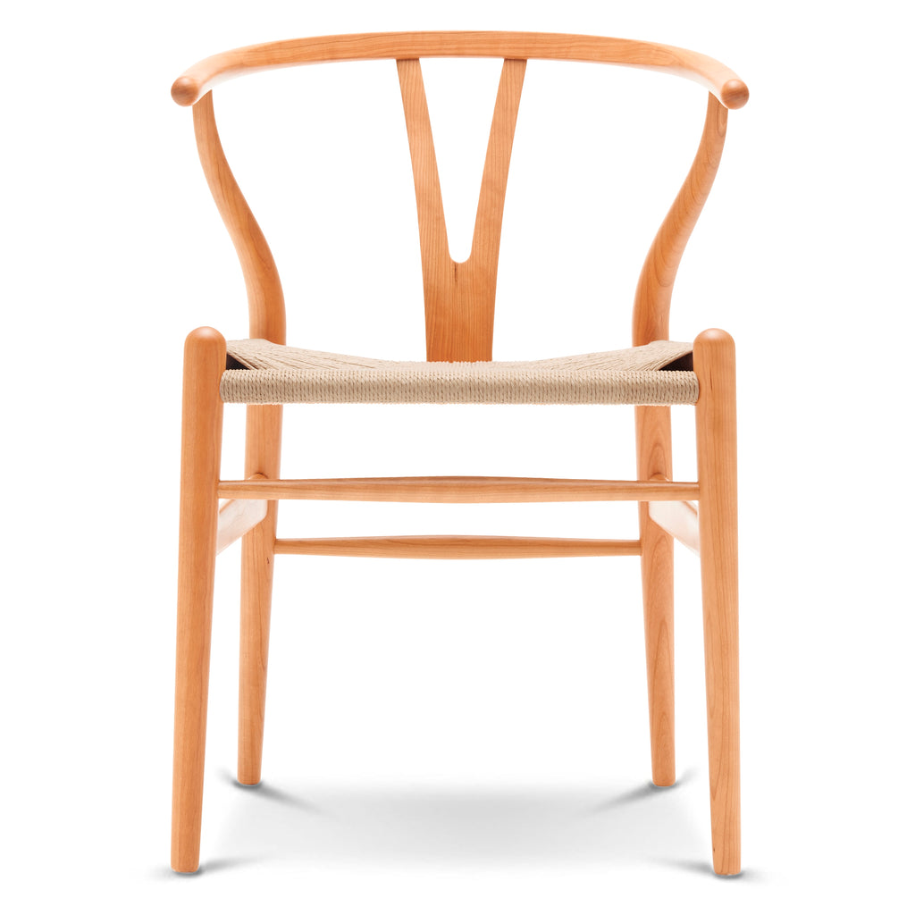 CARL HANSEN & SØN | CH24 Wishbone Chair | Hans J. Wegner | Cherry frame | Available in 6 weeks