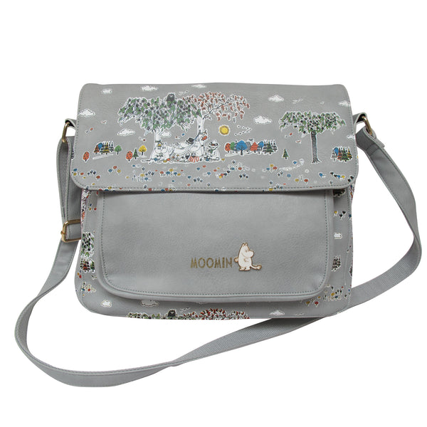 DISASTER DESIGNS | Moomin | Satchel Bag with Meadow Print