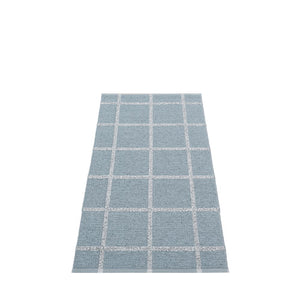*NEW* PAPPELINA | Plastic Rug | Ada | Storm and Grey Metallic | 6 sizes (Available from October)