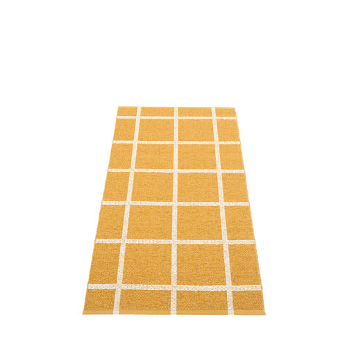 *NEW* PAPPELINA | Plastic Rug | Ada | Ochre and Beige Metallic | 6 sizes (Available from October)
