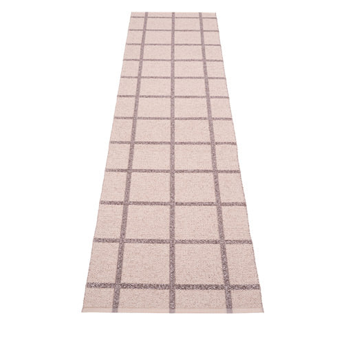 *NEW* PAPPELINA | Plastic Rug | Ada | Pale Rose and Lilac Metallic | 6 sizes (Available from October)
