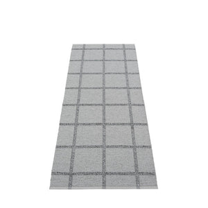 *NEW* PAPPELINA | Plastic Rug | Ada | Grey and Granit Metallic | 6 sizes (Available from October)