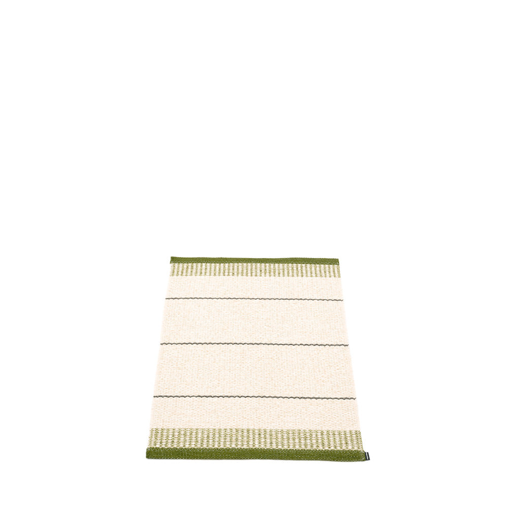 PAPPELINA | Plastic Rug | Belle | Dark Olive | 5 sizes