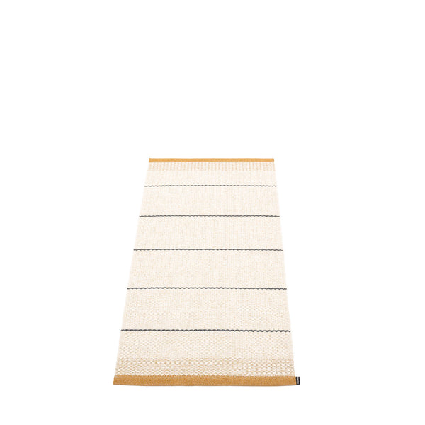 PAPPELINA | Plastic Rug | Belle | Ochre | 5 sizes