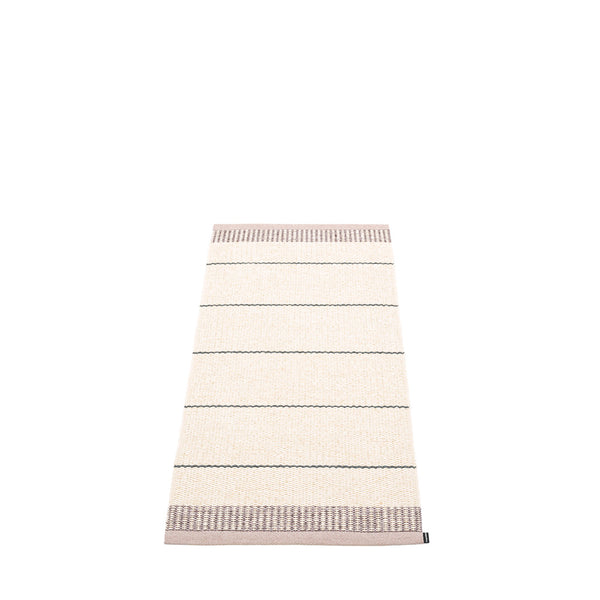 PAPPELINA | Plastic Rug | Belle | Pale Rose | 5 sizes