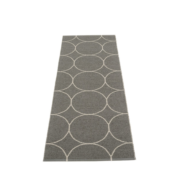 PAPPELINA | Plastic Rug | Boo | Charcoal/Linen | 4 sizes