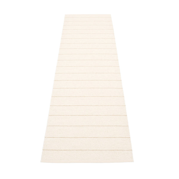 PAPPELINA | Plastic Rug | Carl | Vanilla | 5 sizes - 2 week delivery