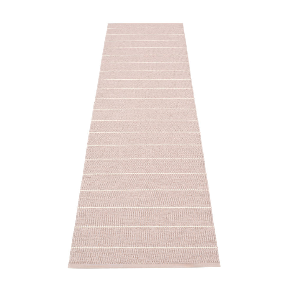 PAPPELINA | Plastic Rug | Carl | Pale Rose | 5 sizes