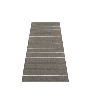 PAPPELINA | Plastic Rug | Carl | Black | 5 sizes