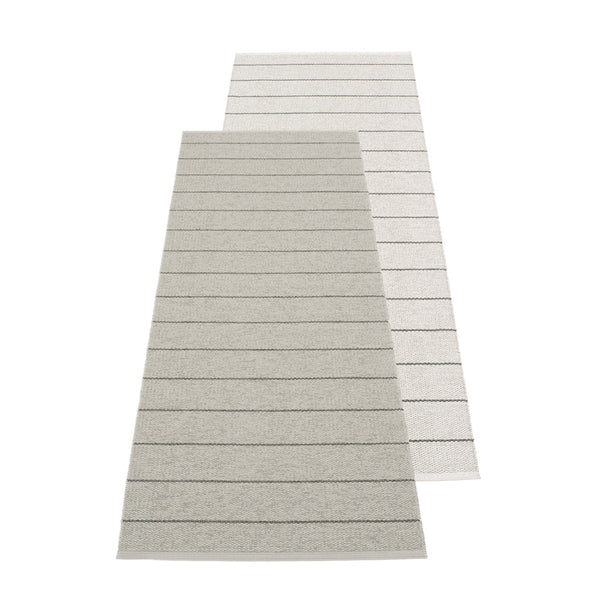 PAPPELINA | Plastic Rug | Carl | Warm Grey | 5 sizes