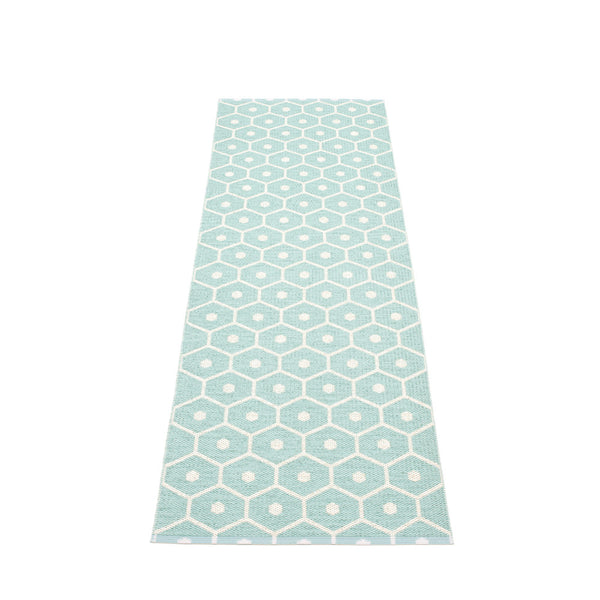 PAPPELINA | Plastic Rug | Honey | Pale Turquoise | 6 sizes - 2 week delivery