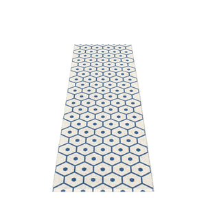 PAPPELINA | Plastic Rug | Honey | Denim | 6 sizes