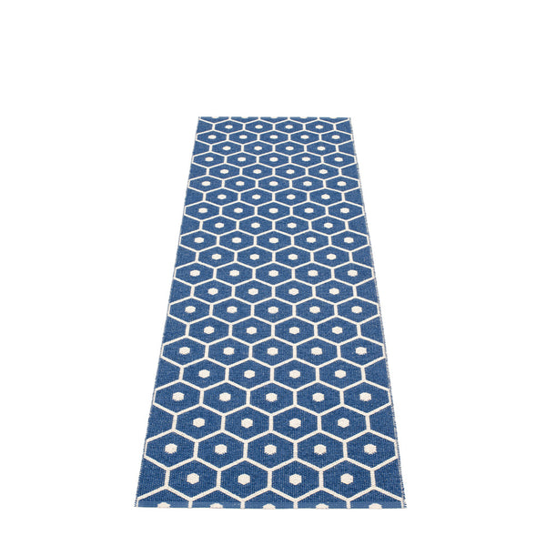 PAPPELINA | Plastic Rug | Honey | Denim | 6 sizes - 2 week delivery
