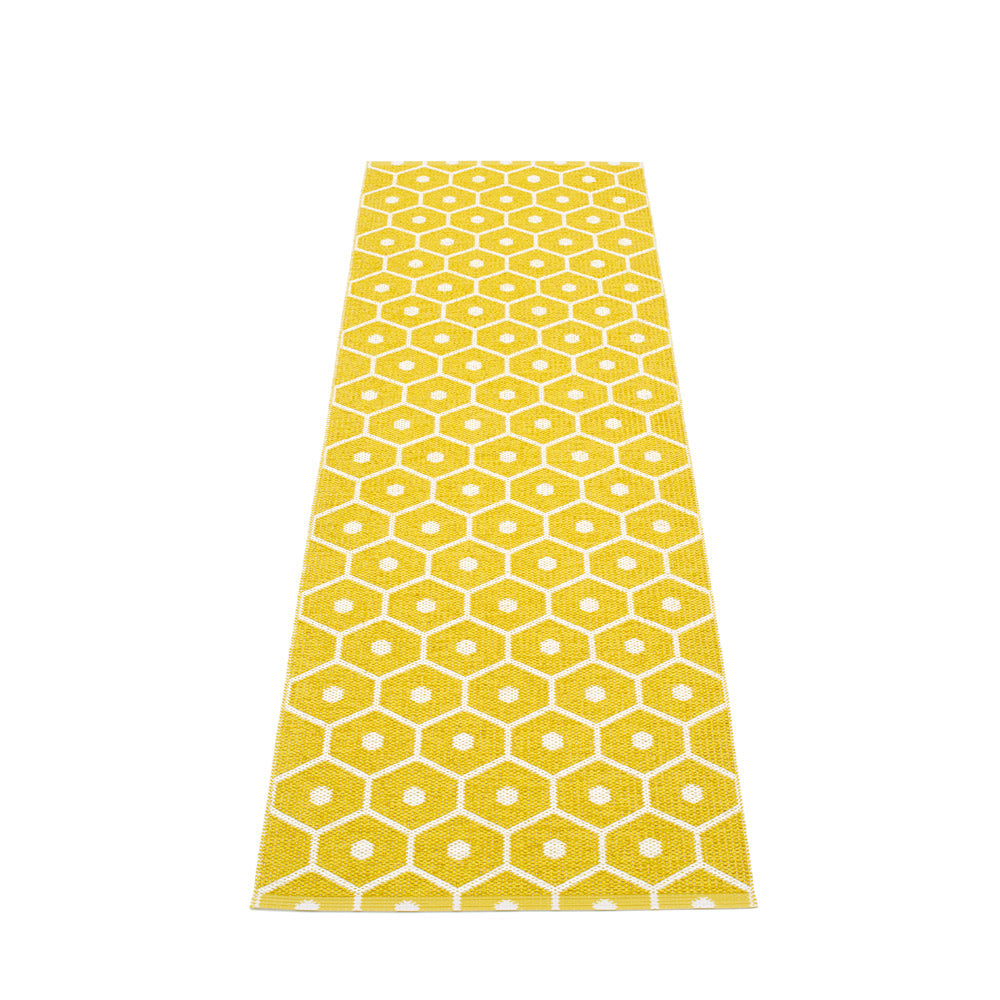 PAPPELINA | Plastic Rug | Honey | Mustard | 6 sizes