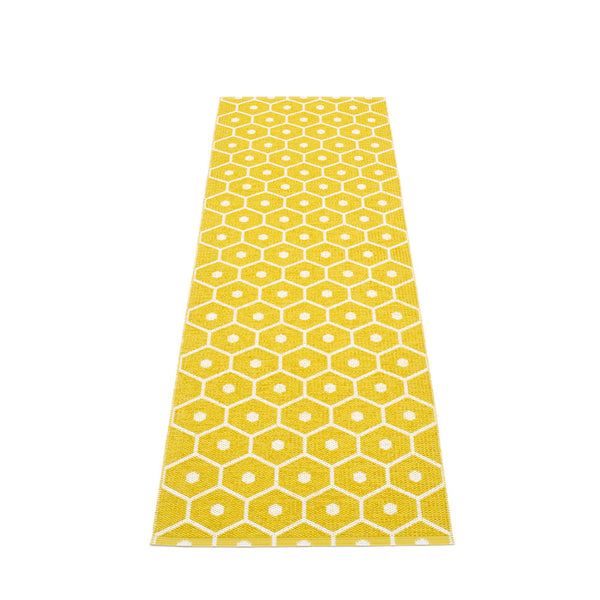 PAPPELINA | Plastic Rug | Honey | Mustard | 6 sizes - 2 week delivery