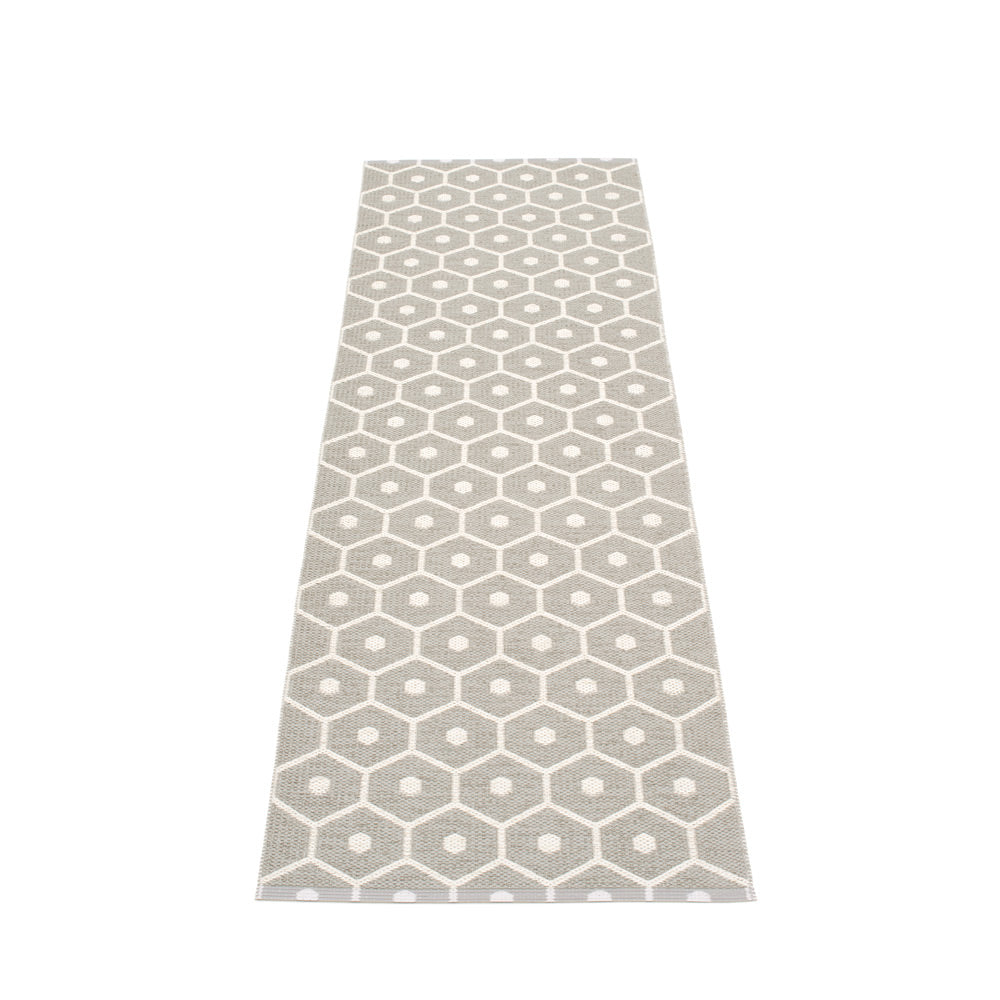 PAPPELINA | Plastic Rug | Honey | Warm Grey | 6 sizes