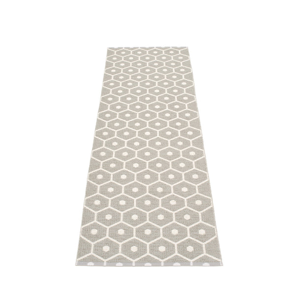 PAPPELINA | Plastic Rug | Honey | Warm Grey | 6 sizes - 2 week delivery