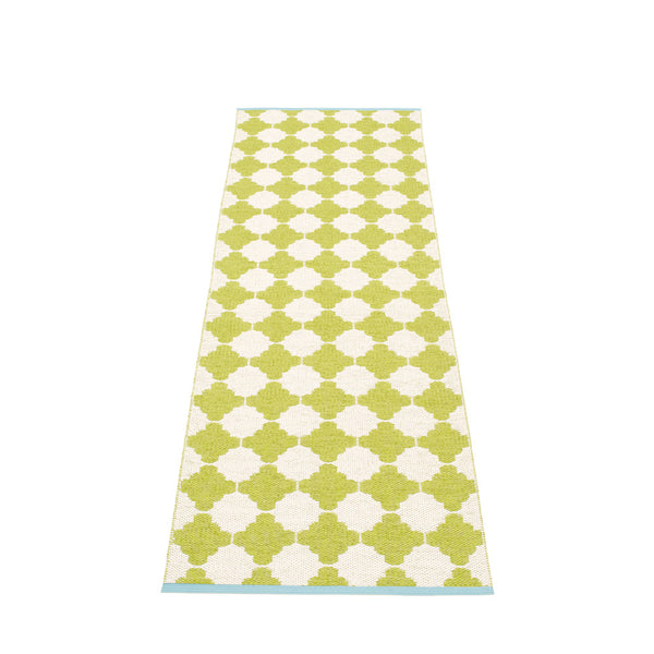 PAPPELINA | Plastic Rug | Marre | Lime | 5 sizes