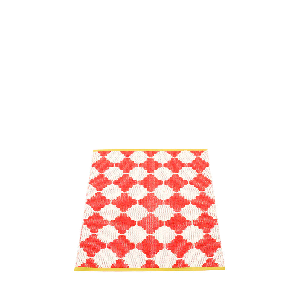 PAPPELINA | Plastic Rug | Marre | Coral Red | 5 sizes