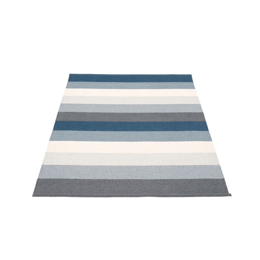 PAPPELINA | Plastic Rug | Molly | Ocean Grey | 4 sizes